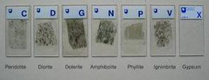 Gia công mẫu địa chất