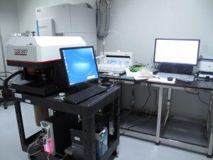 Phòng lazer quang phổ phát xạ Plasma – Khối phổ cảm ứng ( LA- ICP-MS)